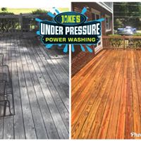 Wood Deck Cleaning & Staining